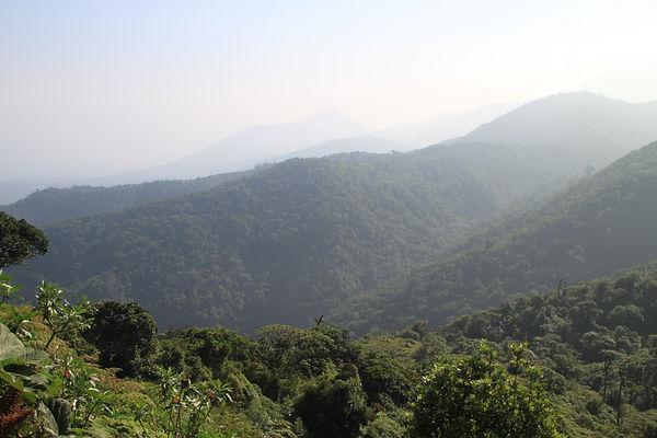 Costa Rica mountain views