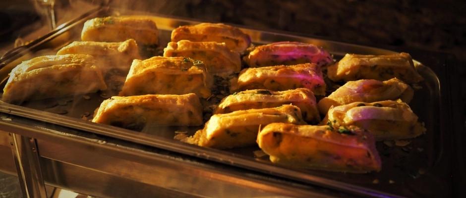 Kartoffel - Kürbisstrudel