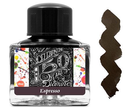 Diamine 150 Anniversary Ink:  Espresso 40ml