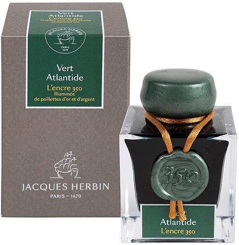 Jacques Herbin Vert Atlantide - 350th Anniversary Ink