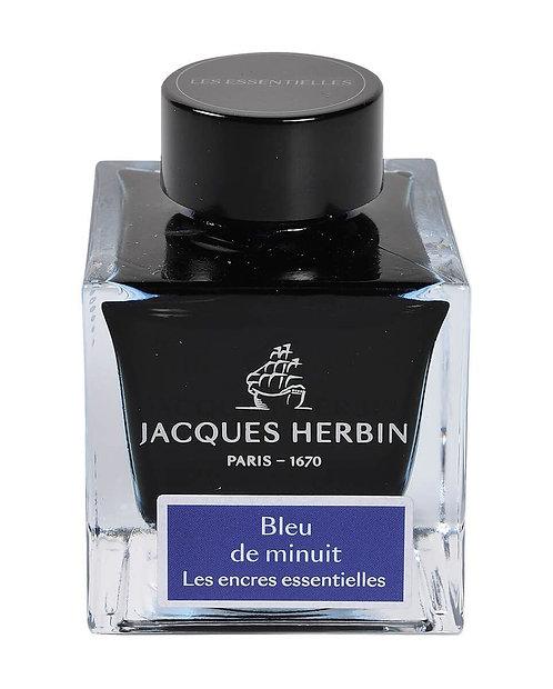 Jacques Herbin Essentielles - Bleu de Minuit Ink
