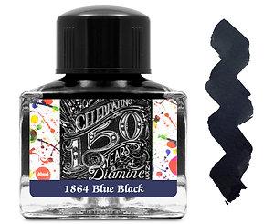 Diamine 150th Anniversary Ink:  1864 Blue Black 40ml