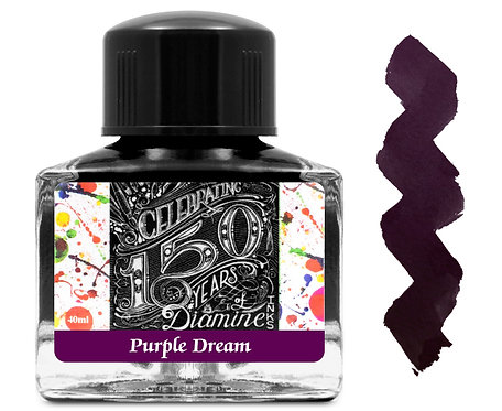 Diamine 150 Anniversary Ink:  Purple Dream 40ml