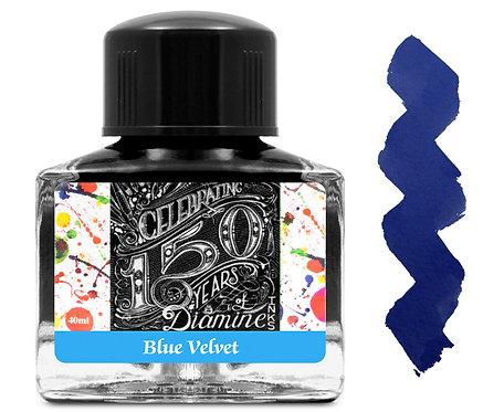 Diamine 150 Anniversary Ink: Blue Velvet 40ml