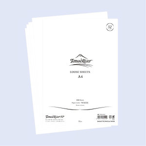 Tomoe River Loose Sheets - 52GSM- White