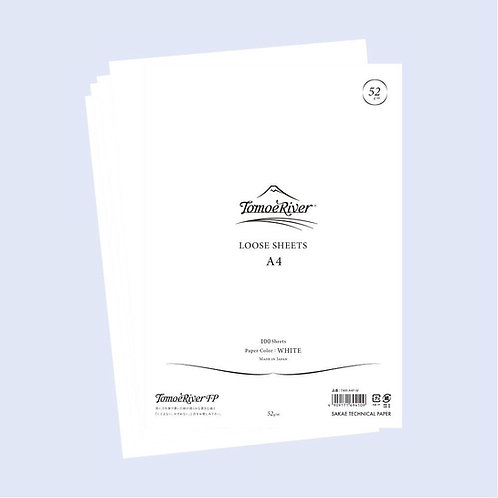 Tomoe River Loose Sheets - 52GSM- White