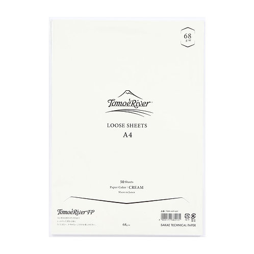 Tomoe River Loose Sheets - 68GSM -Cream