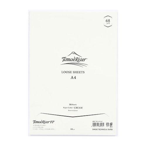 Tomoe River Loose Sheets - 68GSM -Cream