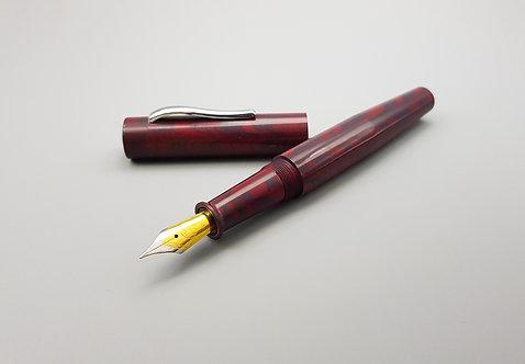 Ranga Model 4 Red Mauve Ripple Special Ebonite