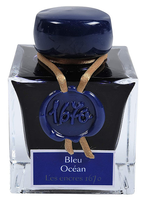 Jacques Herbin 1670 Ocean Blue