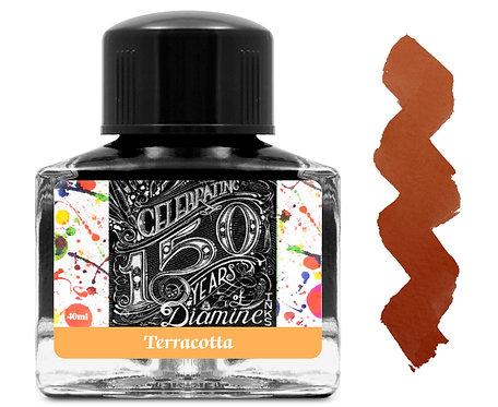 Diamine 150 Anniversary Ink: Terracotta 40ml