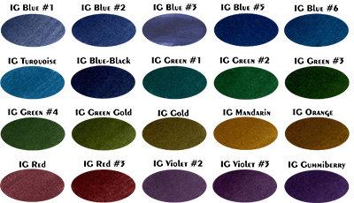 KWZ Iron Gall Ink Sample