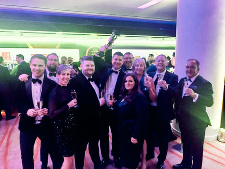 we're caterer of the year!
