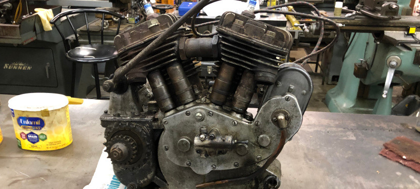 Rider # 6 2020 Cannonball – Indian 101 Scout Rebuild