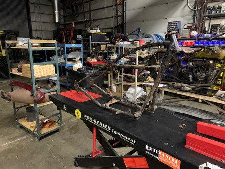 Jared Rinker – Rider #37 1929 Indian 101 Cannonball Build