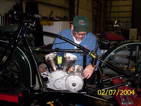 Motor in Frame!!!