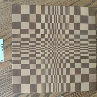 Checkered Cutting Board by Donald.jpg