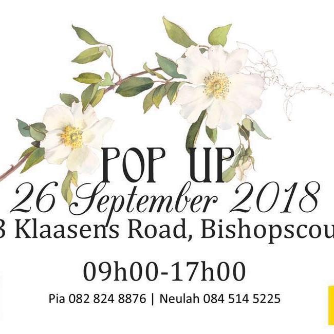 EXHIBITION AT PIA'S POP UPS
