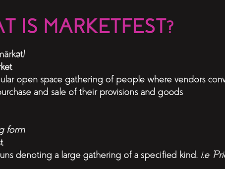 How Did MarketFest Come to Life?