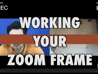 Working Your Zoom Frame