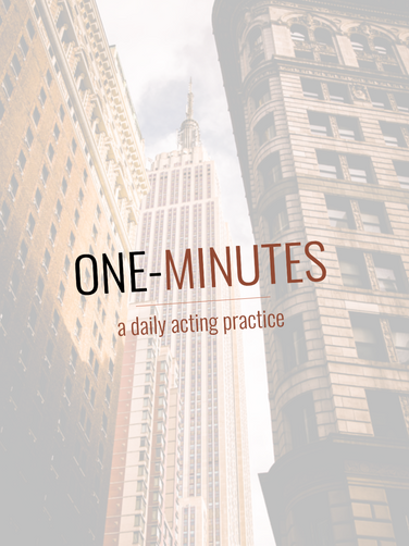 One-Minutes: The Actor's PUSH