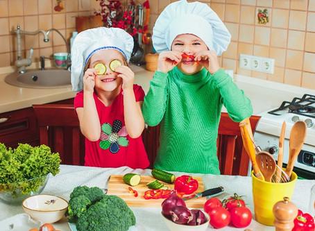 Como fazer com que as crianças gostem dos legumes?