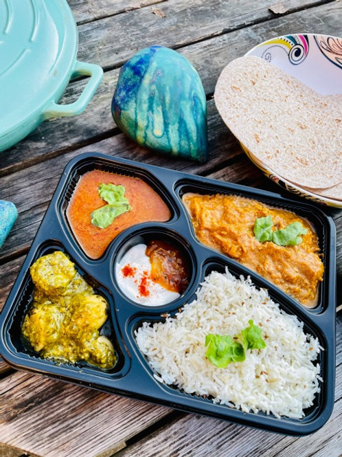 25 JUNE SPICY BUTTER(NUT) SQUASH THALI