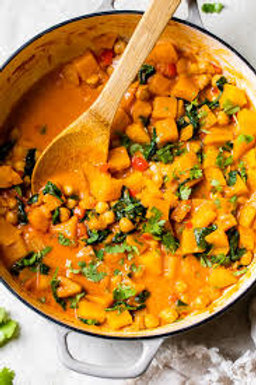 SINGLE BUTTER(NUT) SQUASH CURRY