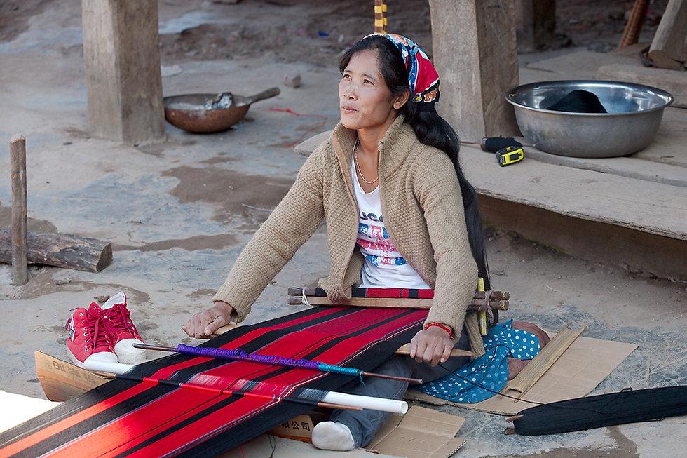 19-Wa-kansan kylä2. Yunnan. Joulukuu 201