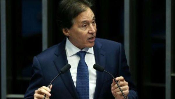 Brazil's Senate President Eunicio Oliveira | Photo: Reuters
