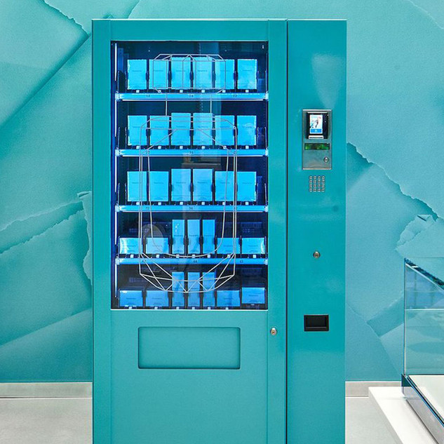 Tiffany & Co. Boutique Fragrance  Vending Experience