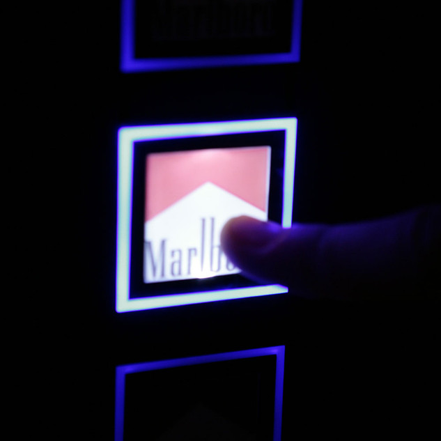Architype Bespoke Cigarette Vending for Exclusive locations
