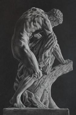 Milo de Croton (Louvre Museum)