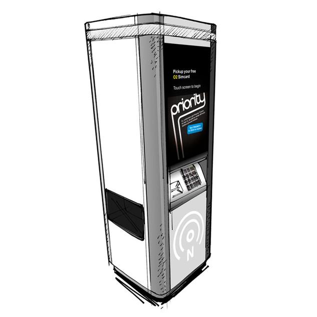 Data Select SIM card vending