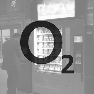 O2 Telefonica, mobile phone and sim card vending