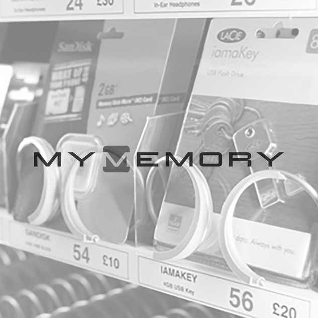 MyMemory touch vending memory cards