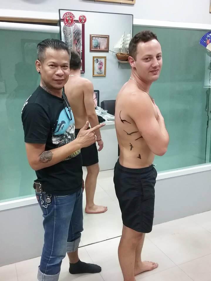 Thank you for coming at Wake up Tattoo Phuket