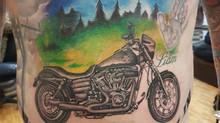 Harley Davidson Tattoo by Pu Thailand