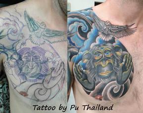 Tattoo by Pu Thailand