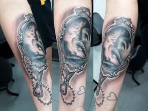 realistic tattoo by Wake up Tattoo Phuket at Patong Beach