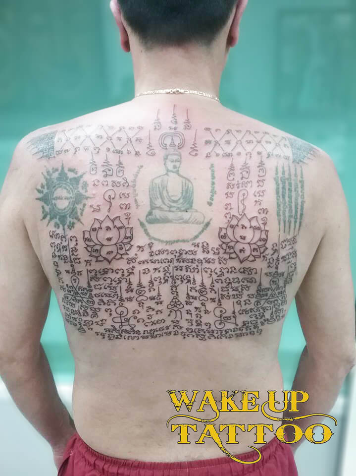 Sak Yant Tattoo by Wake up Tattoo Phuket