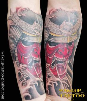 Japanese Tattoo design by Wake up Tattoo Phuket