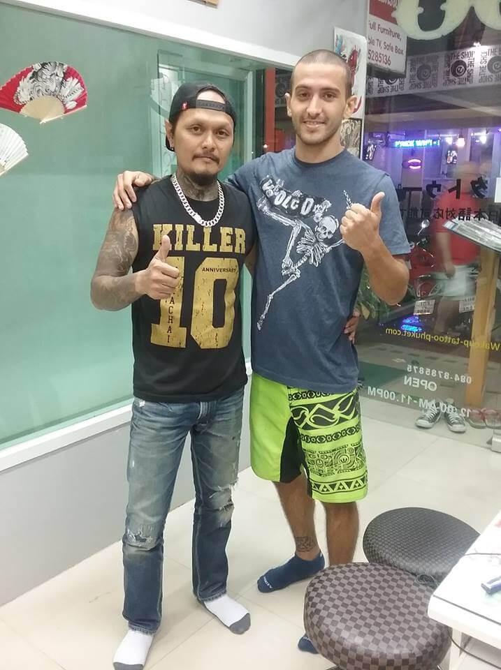 Hello, my best customer by Wake up Tattoo Phuket