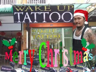 Merry Christmas from Wake up Tattoo Phuket