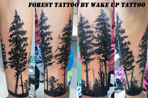 Forest Tattoo by Wake up Tattoo Phuket