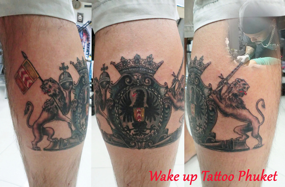 Tattoo by Wake up Tattoo Phuket