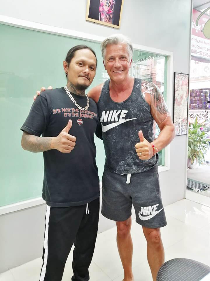 Customer of Wake up Tattoo Phuket