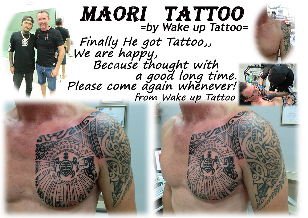 Maori Tattoo by Wake up Tattoo Phuket