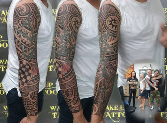 Maori Tattoo by Pu Thailand