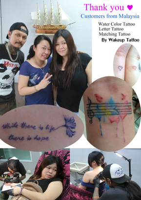 Color Tattoos by Wake up Tattoo Phuket